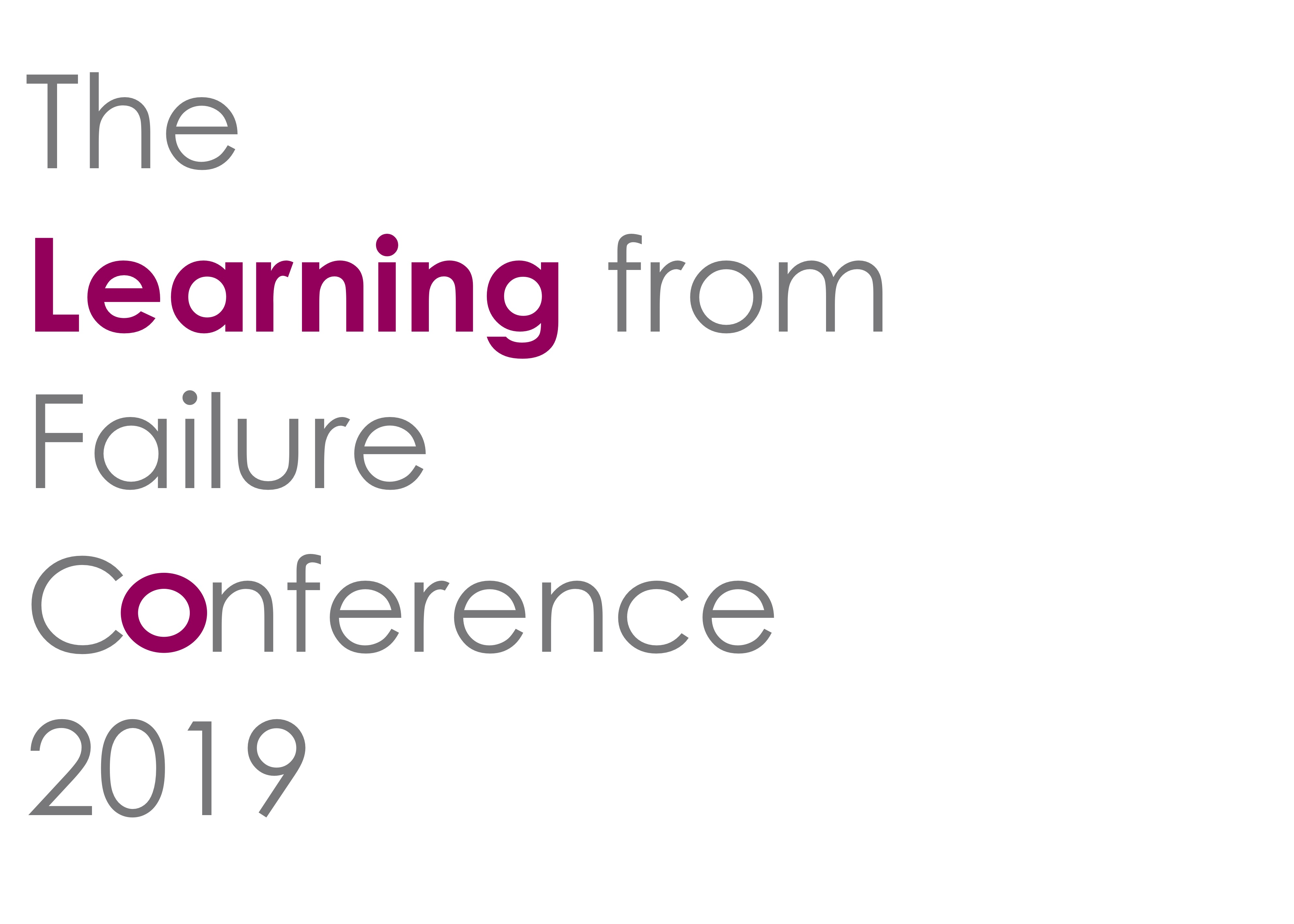 Failure Conference 2019 Logo