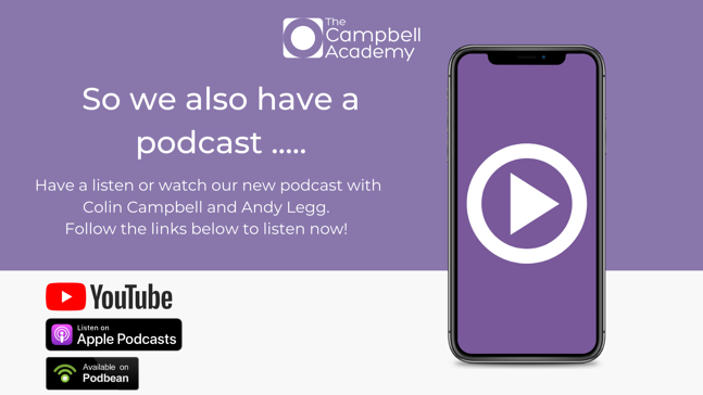 So we also have a podcast ..... (3)