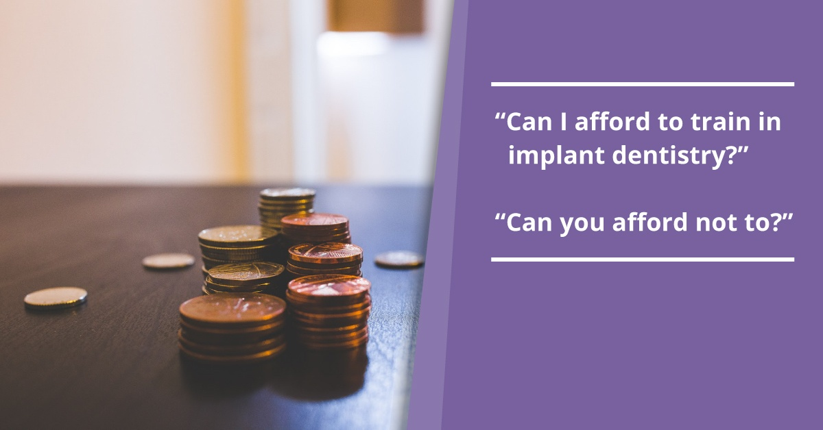 The 'true cost' of dental implant training